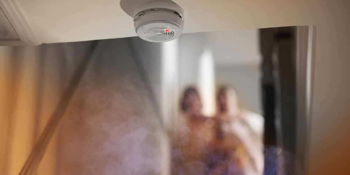 Fire alarms for residential premises and HMOs