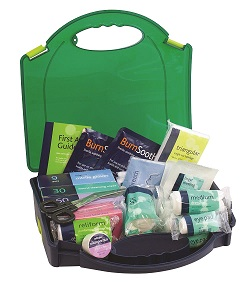 First aid box contents for offices