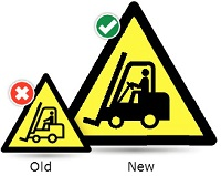 hazard warning symbol