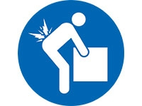 Lift correctly sign