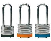 steel padlocks