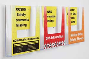 Safety Document Holders