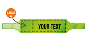Custom Fluorescent Armbands
