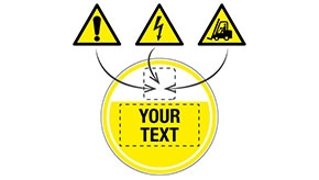 Custom Anti-Slip Hazard Warning Floor Signs