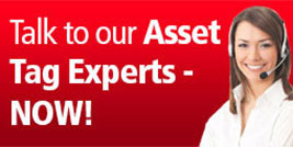 Contact our Asset Tag Experts