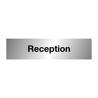 Aluminium Reception Sign