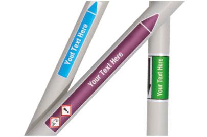 Custom Pipe Markers
