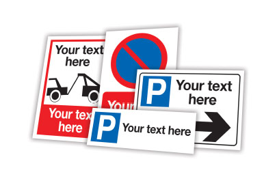Custom Traffic and Parking Signs