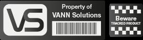 Black Vann Tag with Logo