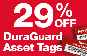29% Off Duragard Asset Tags