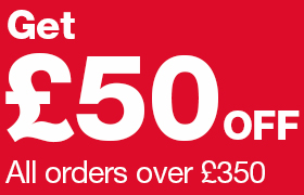 £50 off orders over £350