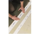 Steps for Brady PaintStripe Line Marking Stencil