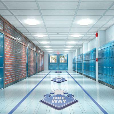 Hallway Social Distancing Kits for Schools