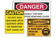 Custom OSHA Labels