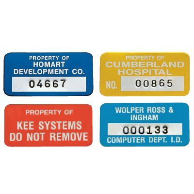Custom Equipment Tags