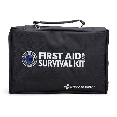 First Aid Only 168-Piece Survival First Aid Kit FA-462