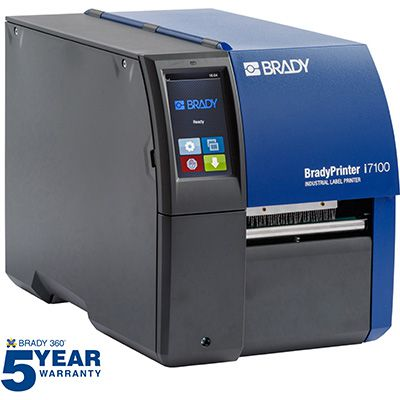 BradyPrinter i7100 300dpi with Product and Wire ID Software Suite