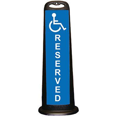 Trailblazer Vertical Panel - Handicap Reserved