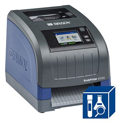 BradyPrinter i3300 with Brady Workstation Laboratory ID Software Suite