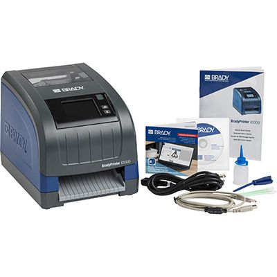 BradyPrinter i3300 with Brady Workstation Safety and Facility ID Software Suite