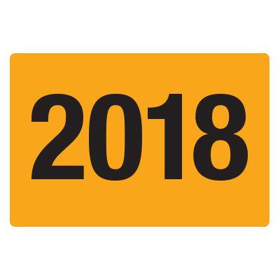 2018 Fluorescent Warehouse & Pallet Labels