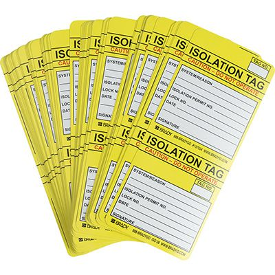 Isolation Tag Inserts