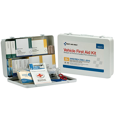 50-Person Vehicle First Aid Kit