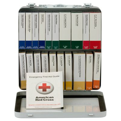 24 Unit First Aid Kit, ANSI A+