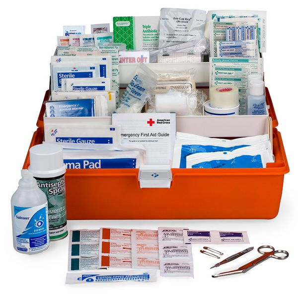 First Aid Only 269-Piece Response First Aid Kit FA-504