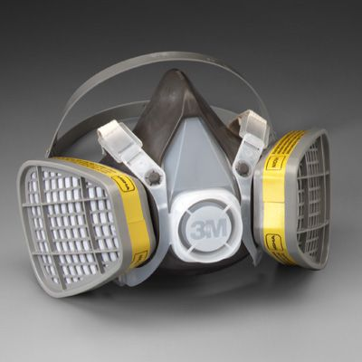3M™ 5000 Series Half Facepiece Organic Vapor/Acid Gas Respirators 5303