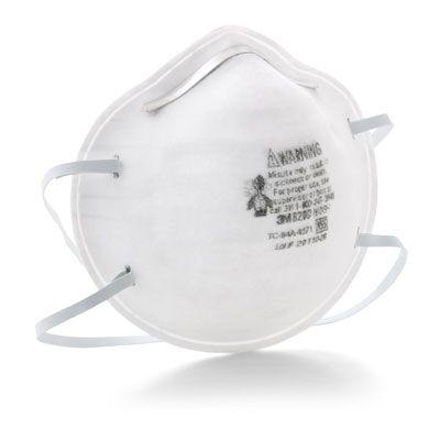 3M™ 8200 N95 Particulate Respirator 70071534492