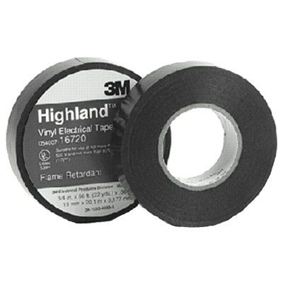 3M Electrical - Highland™ Vinyl Commercial Grade Electrical Tapes 16720