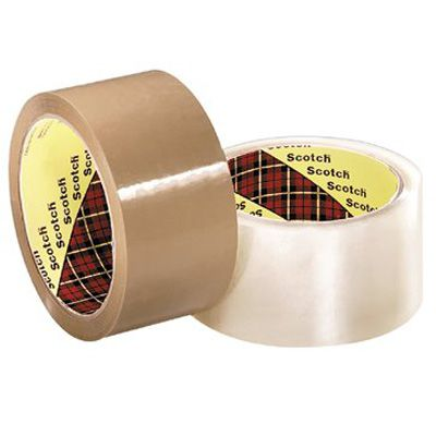 3M Industrial - Scotch® Industrial Box Sealing Tapes 371 021200-13679