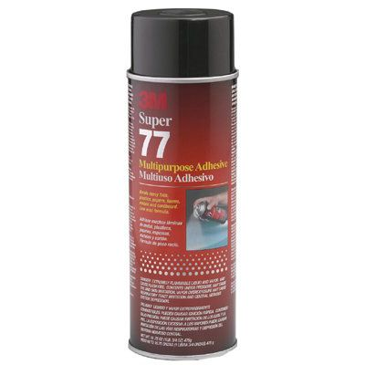 3M Industrial - Super 77™ Multi-Purpose Spray Adhesive 021200-21210