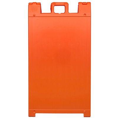 Orange Plasticade® A-Frame Sign Stands For Signs
