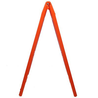 Orange Plasticade® A-Frame Sign Stands For Signs