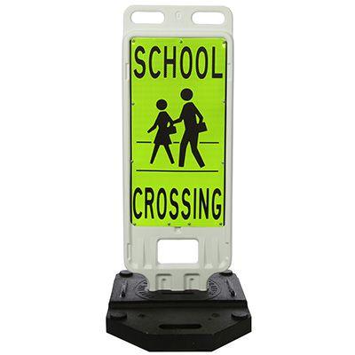 TrafFix Devices School Crossing Crosswalk Safety Signs