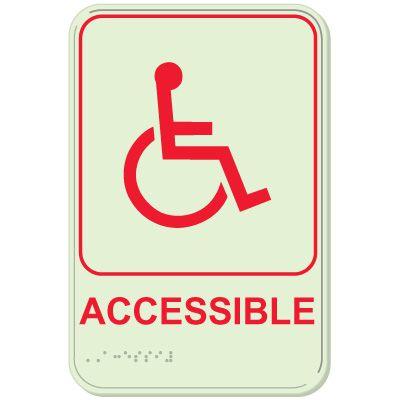 Accessible - Glo-Brite® ADA Braille Signs