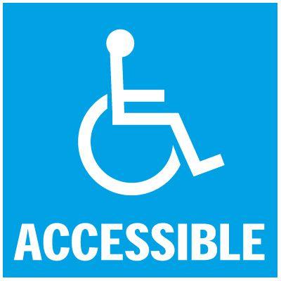 Accessible Handicap Decals