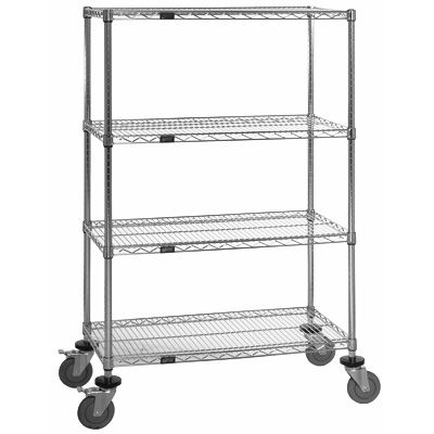 Chrome Posts for Chrome Wire Shelving