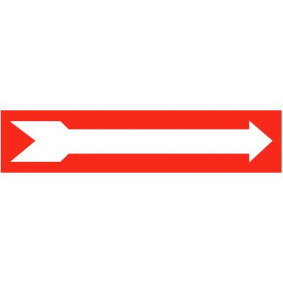 Arrow Graphic Self-Adhesive Vinyl Exit Signs