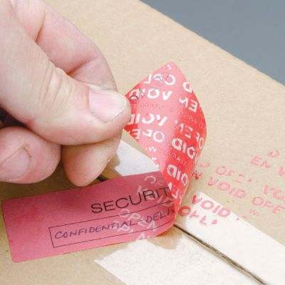 Adhesive Security Seals