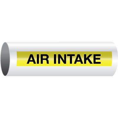 Air Intake - Opti-Code™ Self-Adhesive Pipe Markers