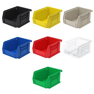 AkroBin Storage Bins, 4-1/8W x 3H x 5-3/8L