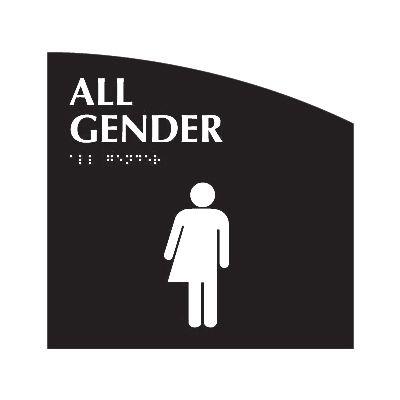 All Gender - Evolution Restroom Signs