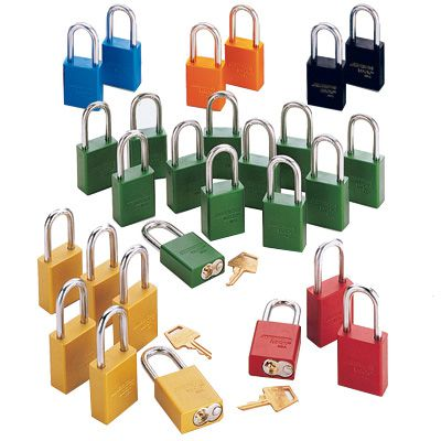 American Lock® Keyed Alike Padlock Set of 30 - 1 Shackle Height A1105KA