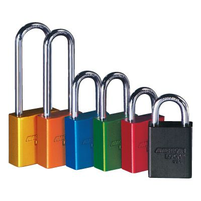 American Lock® Aluminum Padlocks - Keyed-Alike