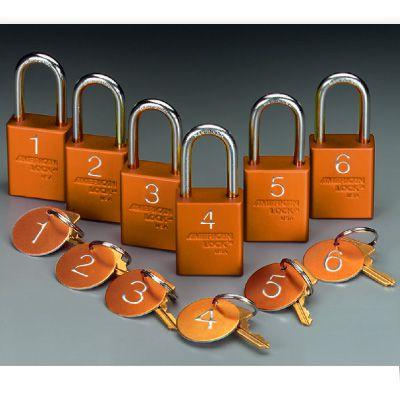 American Lock® Pre-Numbered Padlock Sets