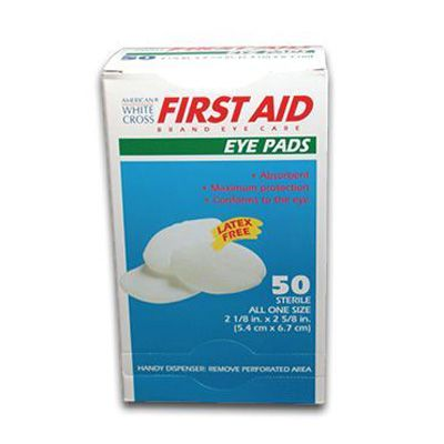American White Cross Eye Pads 17570
