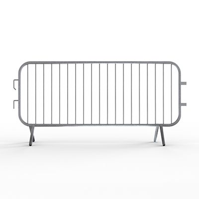 Economy Metal Barricades - 7.5ft